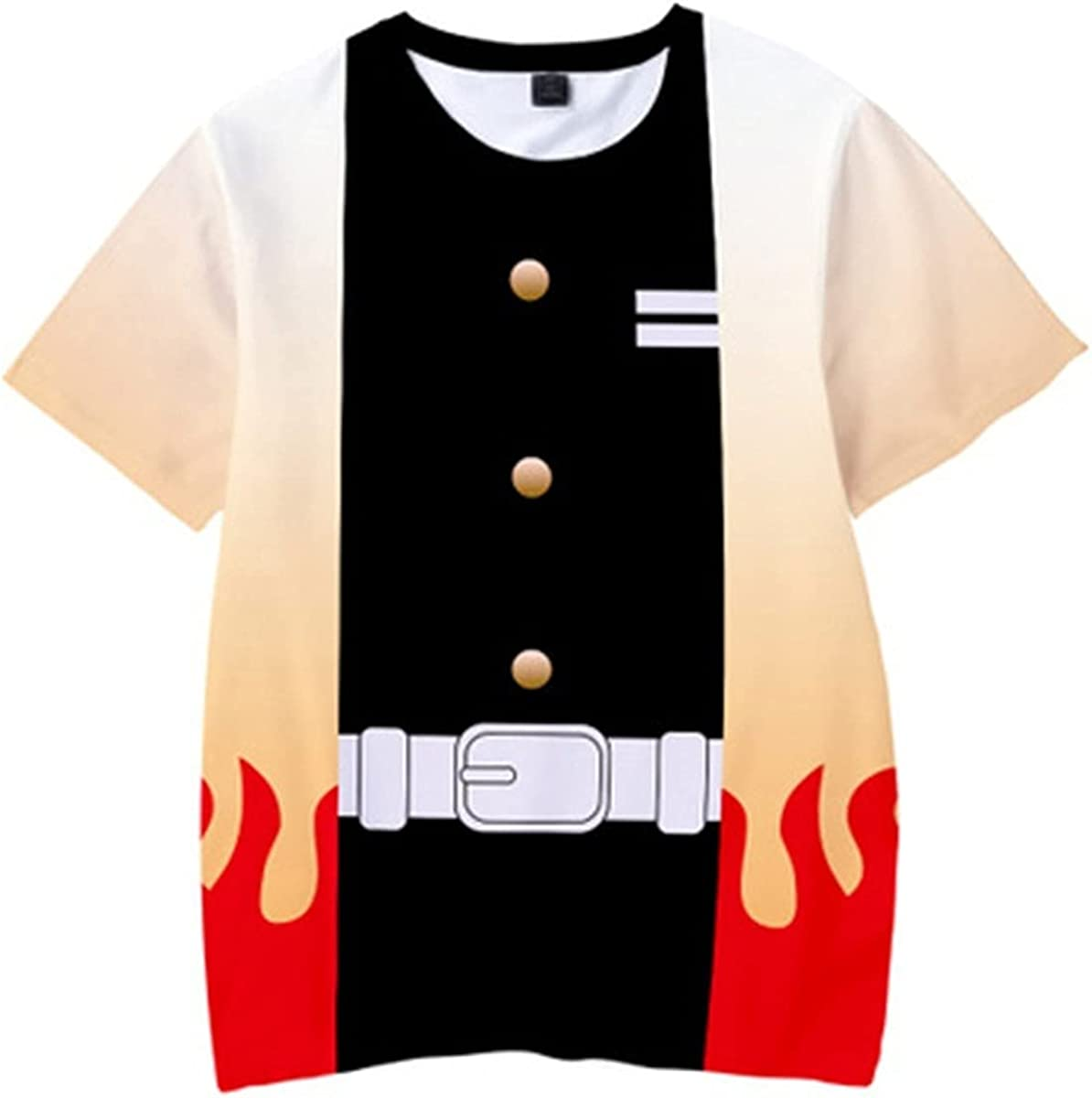 Southern Beauty Girls and Boys Anime Unisex Demon Slayer 3D Printing Fashion T-Shirt