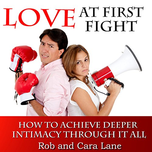 Love at First Fight audiobook cover art