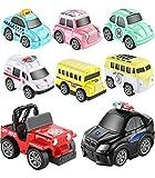 Aufziehautos Spielsachen Spielzeugauto Set Aufzieh LKW und Auto Spielzeug Druckgussautors für Jungen Mädchen Kinder Geschenk ab 1 2 3 Jahre Spielset
