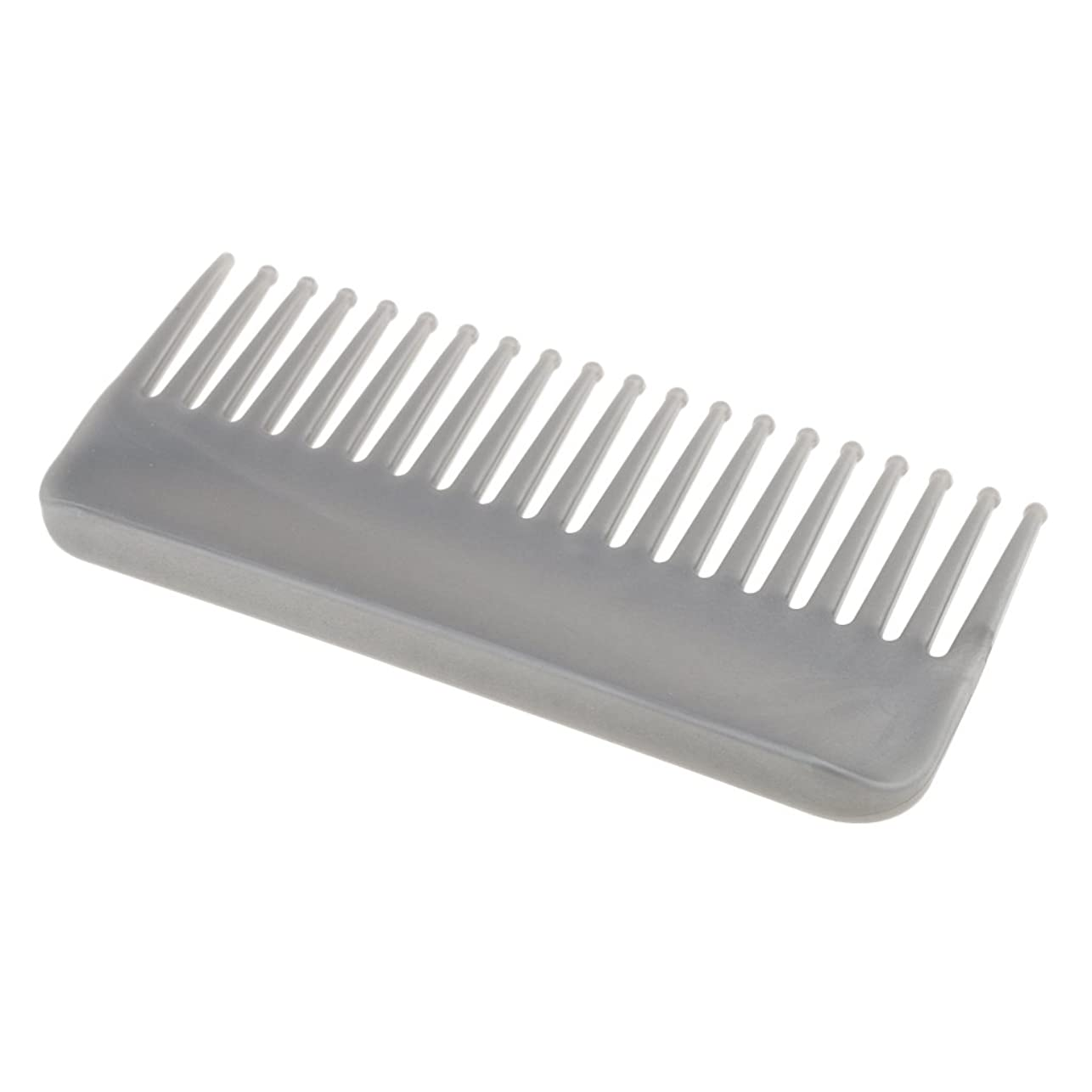 デコラティブ寝具キャメルCUTICATE プラスチック製の絡みのない広い歯のヘアブラシサロンヘアケアマッサージツール