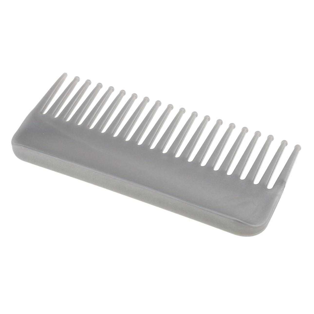 主市長理論的CUTICATE プラスチック製の絡みのない広い歯のヘアブラシサロンヘアケアマッサージツール