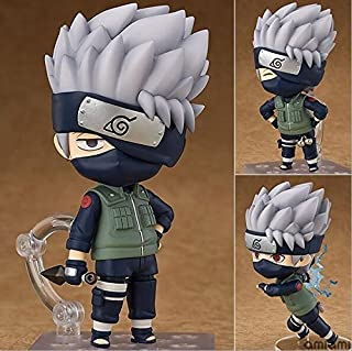 Eaglers 10cm Naruto Shippuden Hatake Kakashi Nendoroid 724# Anime Action Figure PVC Toys Collection Figures for Friends Gifts