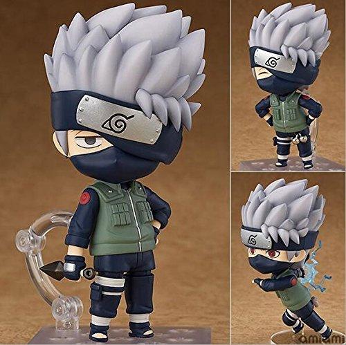 Nendoroid-Figur Naruto Shippuden Hatake kawashi 724 Größe 10 cm Anime-Handlungsfigur PVC-Spielzeug Sammlerfiguren