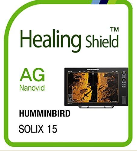 Screen Protector for HUMMINBIRD SOLIX 15 Anti Glare Matte Screen Protector LCD Shield Guard product image