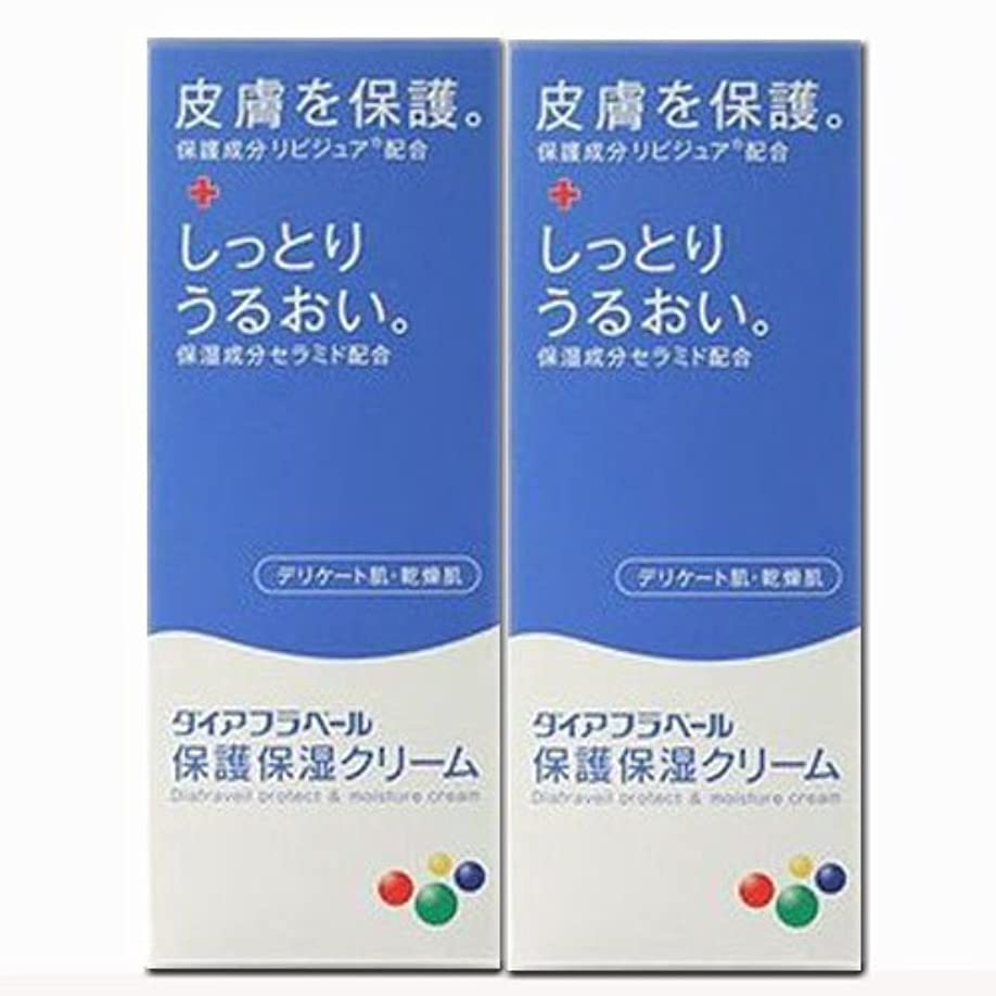 無一文情熱反論者【2個】ダイアフラベール 保護保湿クリーム 60gx2個 (4987360200539-2)