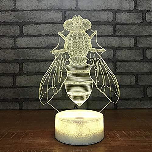3D nachtlampje bij vliegen in de lucht directe voeding 3D kleine lamp geschenk zeldzaam plaats verkoper LED nachtlampje 3D verlichting tafellamp 3D visuele illusie lamp