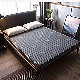zyl Cojín de colchón de Tatami para Dormir tapete japonés de Espesor Suave Almohadilla de colchón Plegable y Transpirable cómoda para Dormitorio de Camping (Color: A Tamaño: Twin: 90x190cm (35x7