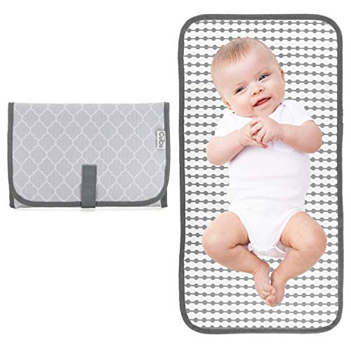 Baby Portable Changing Pad, Diaper Bag,Travel Mat Station,...