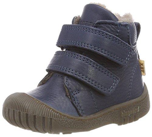 Bisgaard Unisex dziecięce buty zimowe 60332218, niebieski - niebieski 608 Navy - 19 EU
