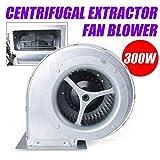 OUKANING Ventilateur extracteur centrifuge Φ146mm Ventilateur Extracteur Centrifuge Souffleur Aspiration ventilation 300w