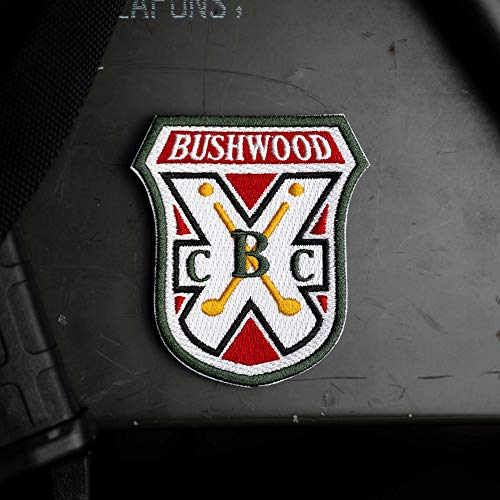 Bushwood Country Club Caddyshack Morale Patch – Hook Backed with Loop Attachment Piece That Can Be Sewn On by NEO Tactical