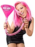 Generique - Biertrichter 70 cm Headrush Beerbong JGA pink-grau