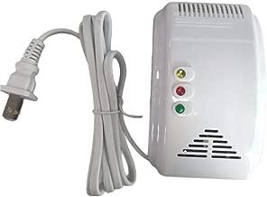 جهاز انذار تسرب الغاز يعمل بالكهرباء لون ابيض رقم الصنف 963 - 1