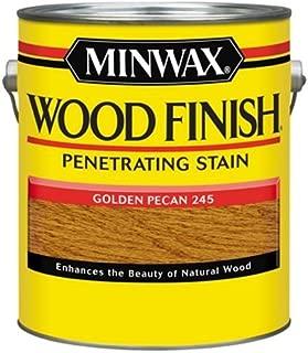 Minwax 71041000 Wood Finish Penetrating Stain, gallon, Golden Pecan
