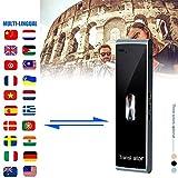ZHUYU Traductor de voz en varios idiomas de dispositivos, inteligente bidireccional en tiempo real T...