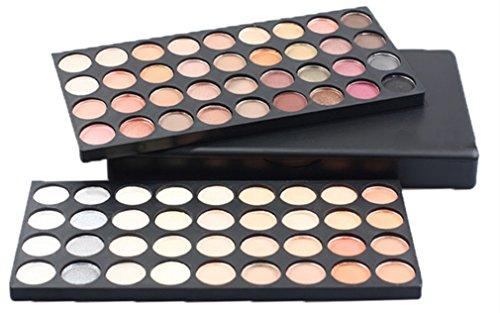 Pure Vie® 72 Colores Sombra De Ojos Paleta de Maquillaje Cosmética - Perfecto para Sso Profesional y Diario