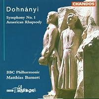 Dohnanyi: Symphony No. 1, American Rhapsody / Bamert, BBC PO by FRIEDRICH KUHLAU (1999-01-19)