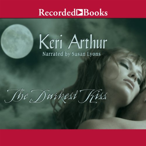 The Darkest Kiss audiobook cover art