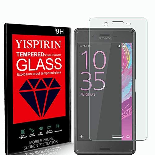 YISPIRIN [2 Stück] 3D Panzerglas Schutzfolie für Sony Xperia X Performance, 9H Festigkeit Anti-Kratzer Schutzglas, Bläschenfrei, HD vollständige Abdeckung Bildschirmschutzfolie für Sony Xperia X