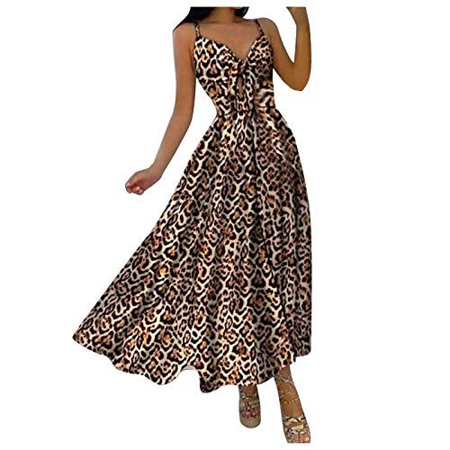 misfiy Sommerkleid Damen Kurzarm Elegant V-Ausschnitt Kleider Damen Sommer Elegant ärmelloses Sling Plisseekleid Einfarbig Sexy Sommerkleid...