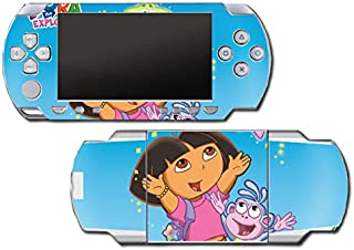 Dora the Explorer Boots Backpack Diego Map Video Game Vinyl Decal Skin Sticker Cover for Sony PSP Playstation Portable Original Fat 1000 Series System