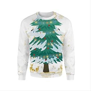 AHJSN Men Women S-4xl Santa Claus Christmas Novelty Ugly Christmas Sweater Snowman 3d Printing Hooded Sweater 4XL 9