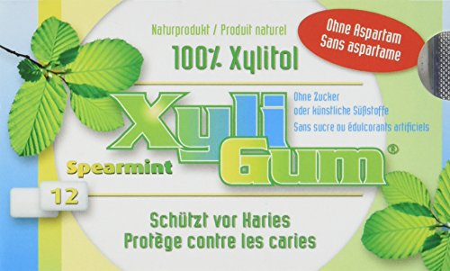Birkengold Xyligum Grüne Minze (12 Stück), 6er Pack (6 x 15 g)