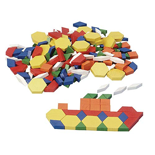 Excellerations WDPAT Wood Pattern Blocks 2 (Pack of 250)