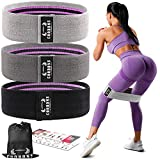 Resistance Bands for Legs and Butt,Exercise Bands Set Booty Bands Hip Bands Wide Workout Bands...