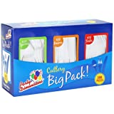 Party Dimensions Plastic Box | White | Pack of 300 Cutlery Combo