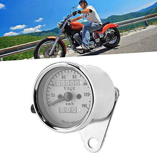 Velocímetro, luz de fondo amarilla resistente al desgaste, luz nocturna, odómetro, para medición de velocidad, motocicleta, scooter, cálculo de kilometraje