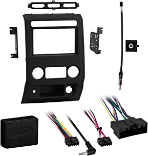 Metra 95-5850B Double DIN Dash Kit Combo for Select Ford F-250/350/450/550XL w/o CD Player 2017-Up