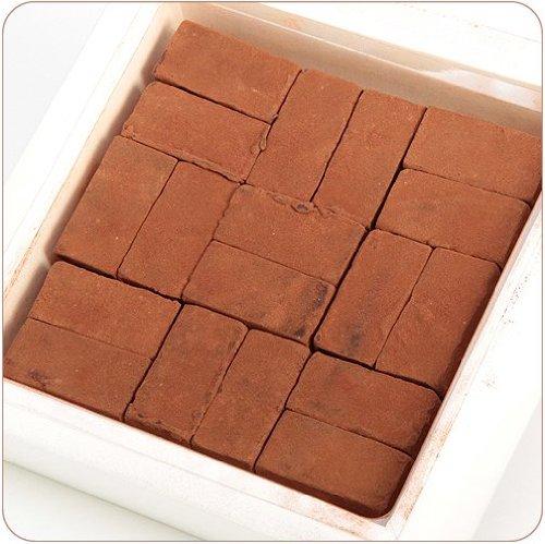 【最高級チョコレート使用】神戸煉瓦造り(チョコレートギフト)【生チョコレート】