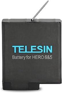 Bateria Recarregável Telesin para GoPro Hero 5 Black 6 Black 7 Black