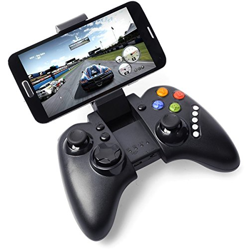 PG Rechargeable Wireless Multimedia Bluetooth Game Controller Gamepad Joystick for Android HTC Sony Note 2 3 S5 G900 HTC M8 IP102