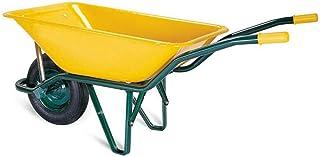 WURKO 15000007 - Carretilla obra amarilla europea 90l