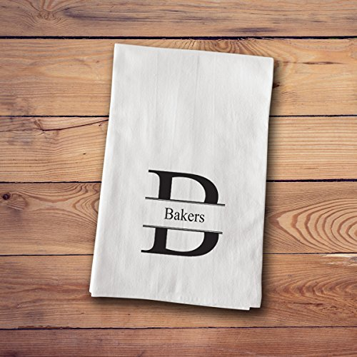 Tea Towels - Personalized - Stamped