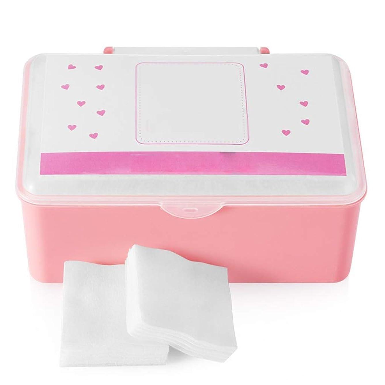 不格好毎年味わうクレンジングシート コットンパッドコットンクレンジングコットンフェイス付き薄いセクション水分補給ウェット圧縮スペシャルボックス入り1000ピース (Color : White)