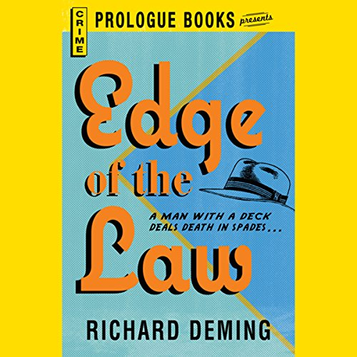 Edge of the Law audiobook cover art