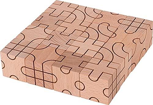 GOKI- Puzzles 3DPuzzles 3DGOKIConstrucción geometría, Multicolor (1)