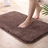 All-In Tapis de Bain Antidérapant Et Absorbant Long Fluff en Microfibre Lavable...