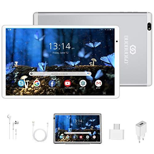 Tablet 10.1 Pulgadas Android 10 Quad Core, Certificación Google GMS 4 GB...