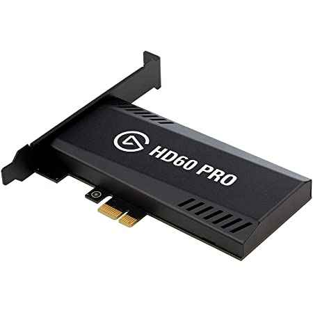 Elgato HD60 Pro1080p60 Capture and Passthrough, PCIe Capture Card, Low-Latency Technology, PS5, PS4, Xbox Series X/S, Xbox One