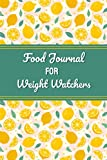 food journal for weight watchers: Food Journal for Meal Tracking , Diet Planner ForWeight Loss! | Record Breakfast, Lunch, Dinner, Snacks, Water & ... | Daily Record: Monday to Sunday | 120 Pages