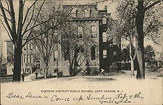Eastern District Public School East Orange, New Jersey NJ Original Vintage Postcard