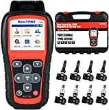 Autel TS508K 2021 Newest TPMS Relearn Tool, with $240 Value (4 PCS 315MHz & 4PCS 433MHz Sensors), Program MX-Sensors, Activate/Relearn All Sensors, Read/ Clear TPMS DTCs, Lifetime Free Update