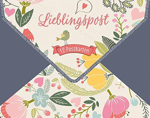 Lieblingspost: 12 Postkarten