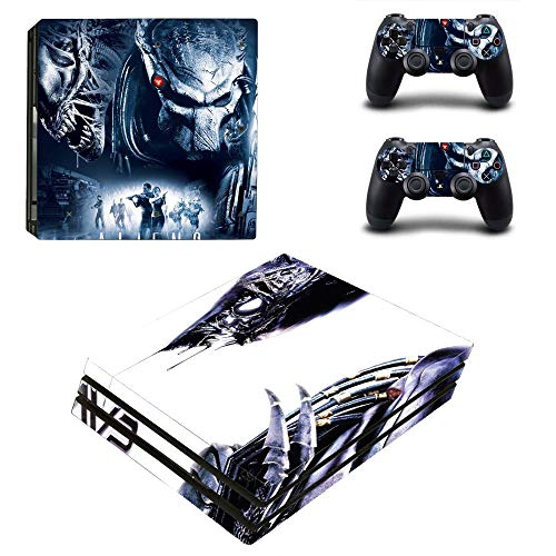 AMALA NAIDU Vinyl Skin Sticker Cover Decal for Microsoft PS4 Pro Console and Remote Controllers Space Animal HD Printing