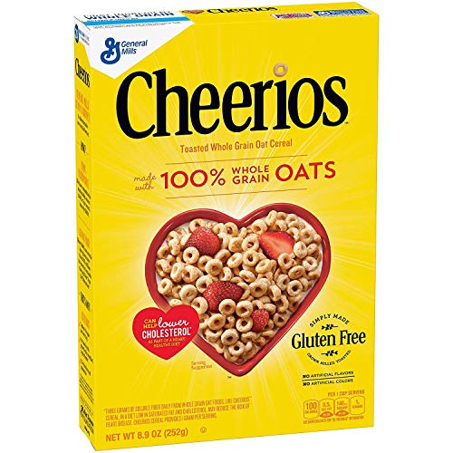 Cheerios Toasted Whole Grain Oat Cereal, 8.9 oz
