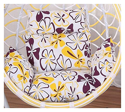 XiYou Garden Furniture Chair Cushions Hanging Chair Cushions Hanging Egg Hammock Chair Pads, Without Stand Multi Color Swing Seat Cushion Thick Nest Hanging Chair Backation